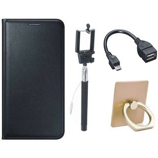 Redmi Note 5 Cover with Ring Stand Holder, Selfie Stick and OTG Cable