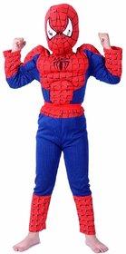 Fancydresswale Spiderman Muscle Costume For Kids