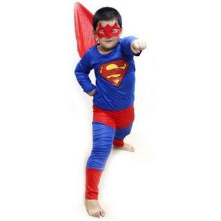 Fancydresswale Superman Fancy  Costume For Kids
