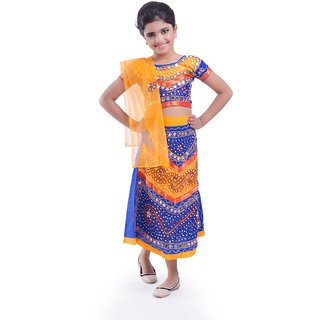 Fancydresswale Gujrati girl  Costume For Kids