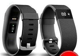 Smart HRM Bracelet, Sports Fitness Tracker Heart Rate Monitor Pedometer
