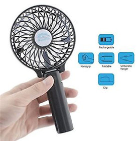 Foldable Portable Mini 3 Speed USB Rechareable Hand Fan For Desk And Travel Use