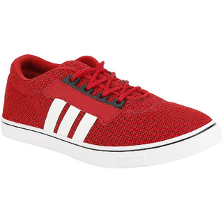 EXCLUSIVE RED NEW PAYA HUB CASUAL SHOE-035