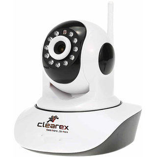 Clearex Cctv Wifi Wireless IP 720p Network IR P2p 1 Channel Home Security Camera