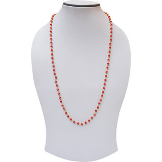 simbright gold red beads elegant bright chain