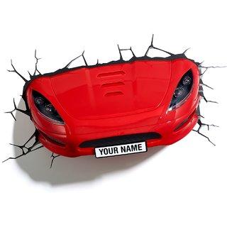 Sports Car 3D Deco Light By 3D Light FX