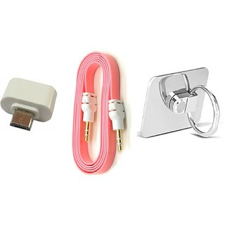 Ring OTG Adopter and Aux Cable (Assorted Colors)