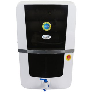 Ocean Pure Royal Crown RO Water Purifier RO + UV+UF+TDS Controller Black 10ltr