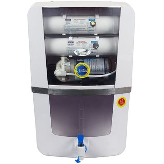 Ocean Pure Royal Crown RO Water Purifier RO + UV+UF+TDS Controller Crystal 10ltr