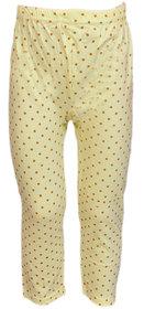 Pari  Prince Kids Girls Cotton Yellow Legging