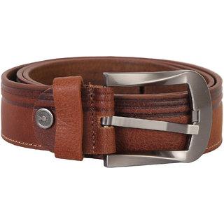 Men's Brown Leather Belt