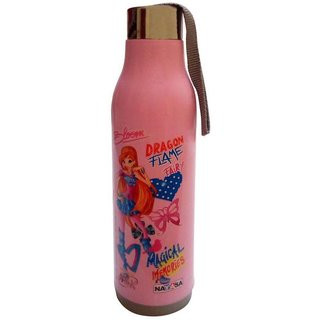 Nayasa Insulated Water Bottle pink colour 900ml