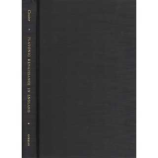 The Platonic Renaissance in England By Gordian Press Inc (1 October 1970)