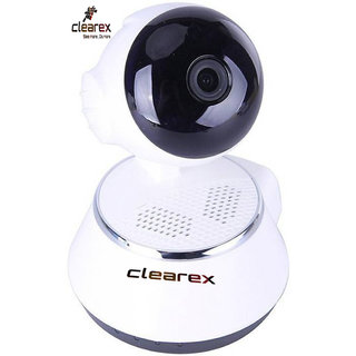 Clearex 720 IP Wifi Wireless smart Survillance cam Micro SD Network P2P 1 Channel Home Security Camera