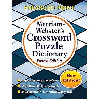 Merriam Websters Crossword Puzzle Dictionary By Merriam Webster,U.S.; 4th Revised edition edition (5 August 2016)