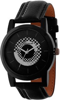 Jack Klein Stylish Black And White High Quality Wrist Watch For Men