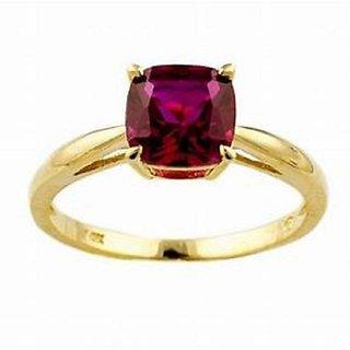 Ruby Ring Natural Manik Ring Unheated  Lab Certified Stone Jaipur Gemstone
