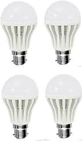 Pari & Prince LED B22 Cool Daylight Bulb 9watt  (Cool Day Light,Pack Of 4)