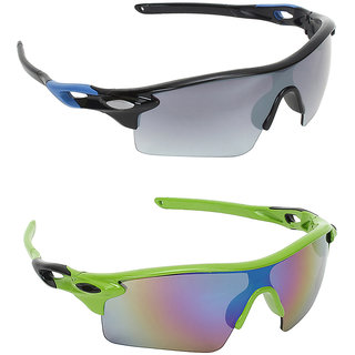 83f5b8319f3 Buy Zyaden Combo of 2 Sports Sunglasses Online - Get 74% Off