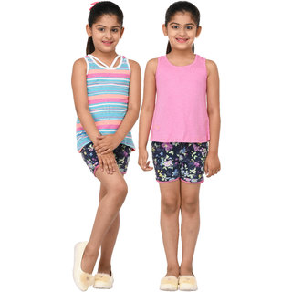Grand Derby Girls Multicolor Top Pack Of 2