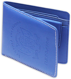 Unique Blue PVC Wallet For Men (Pln-001)