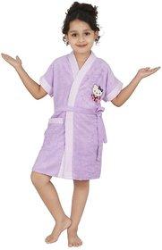 Superior Kids Bathrobe (Lavender Dc)