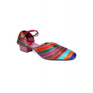 Indirang Authentic Multicoloured Heel