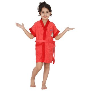 Superior Kids Bathrobe (Cherry Dc)