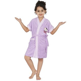 Superior Kids Bathrobe (Lavender Dc)