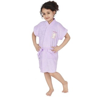 Superior Kids Bathrobe (Lavender)