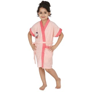 Superior Kids Bathrobe (Peach-Dc)