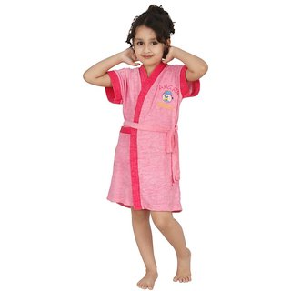 Superior Kids Bathrobe (Pink)