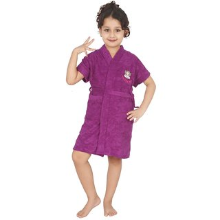Superior Kids Bathrobe (Purple)