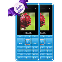 Combo Of IKall K2180 (Dual Sim, 1.8 Inch Display, 800 M