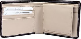 Contra Black Leatherite Wallet for Men