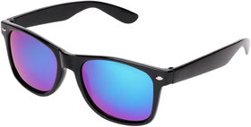 Aligatorr Stylish Blue Mercury Unisex UV400 Wayfarer Sunglass