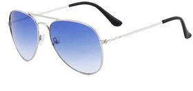 Royal Son UV Protected Aviator Sunglasses For Men And Women (SHOPCLUES0155 58 Blue Lens)