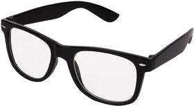 Aligatorr White & Black UV Protection Free Size Full Rim Wayfarer Non-Metal Sunglasses
