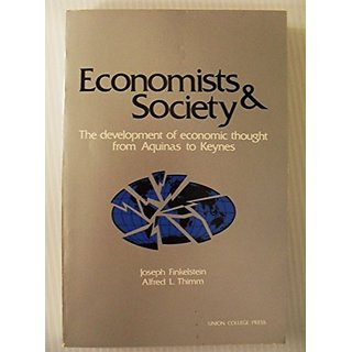 Economists and Society By Syracuse University Press; 2 edition (31 October 1983)