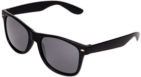 Aligator Black UV Protection Wayfarer Unisex Sunglass