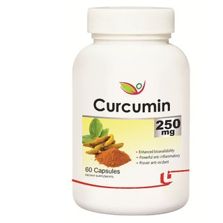 Biotrex Curcumin - Powerful Antioxidant 60 Capsules