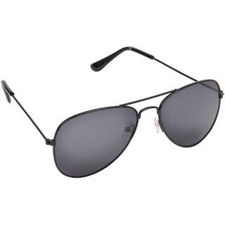 Aligatorr Stylish Black Aviator UV400 Sunglass