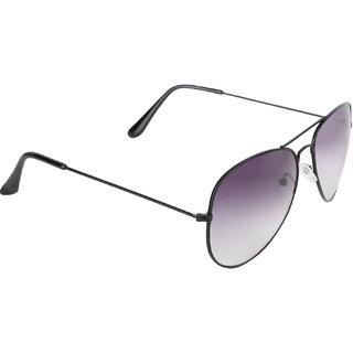 Aligatorr Grey Aviator Double Shade Unisex UV400 Sunglass