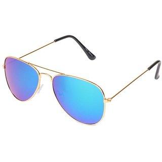 32f148ffba Buy Aligator Blue UV Protection Aviator Unisex Sunglass Online - Get 91% Off