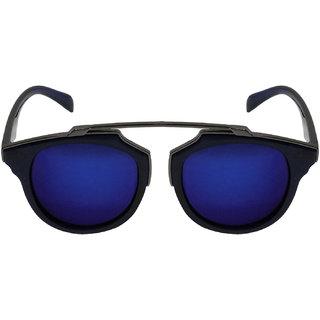 41e4d92f9e Buy Aligatorr Bird Blue Mercury Retro UV400 Unisex Sunglass Online - Get  94% Off