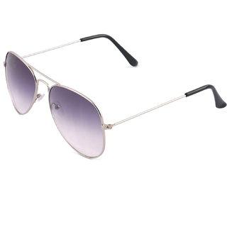 43df95442d Buy Classic Grey Gradient Aviator Sunglasses For Men and Women Online - Get  89% Off