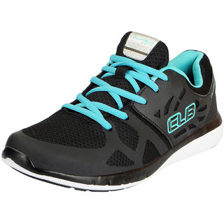 Columbus Mens STAR BUCKS Black Blue Mesh Running Shoes/Walking/Gym Shoes