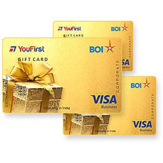 YouFirst BOI gift card (Rs 15000)