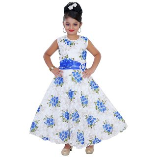 Saarah Multicolored Gown for girls