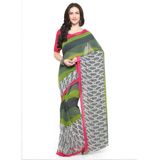 Vaamsi Georgette Printed Saree